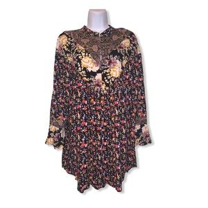 free people women's small wildflower tunic